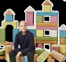 Lars på en arkitektur