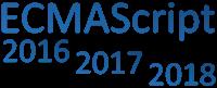 ECMAScript 2016-2018