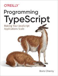 Programming TypeScript - Bokomslag